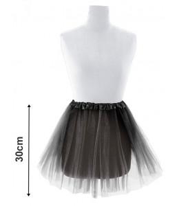 Tutu Negro 30cm