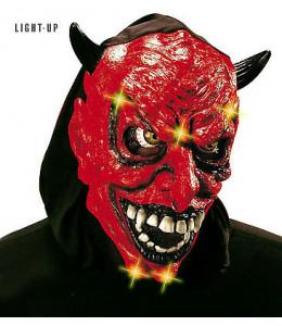 Mascara Diablo con Capucha