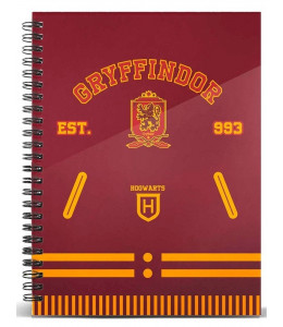 Cuaderno Harry Potter Griffindor