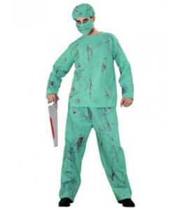 Disfraz de Zombie Cirujano