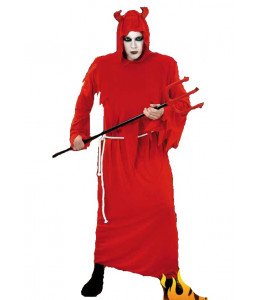 Disfraz de Diablo Rojo con Tunica