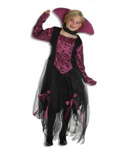 Disfraz de Vampiresa Lila Infantil