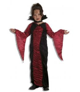 Disfraz de Vampiresa Burdeos Infantil