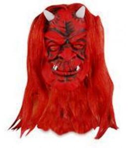 Mascara Diablo con Pelo