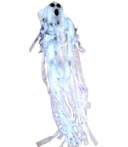 Fantasma colgante Blanco con cadenas