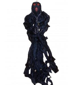 Fantasma colgante Negro con cadenas