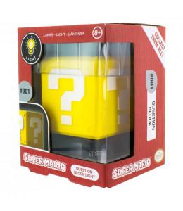 Lampara 3D Bloque con Interrogacion Nintendo