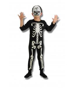 Disfraz de Esqueleto Calavera Infantil