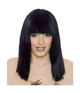 Peluca Cleopatra Negra