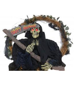Corona La Muerte Happy Halloween