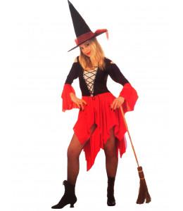 Disfraz de Bruja Roja