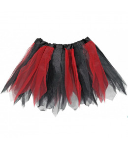 Tutu Rojo y Negro 30cms