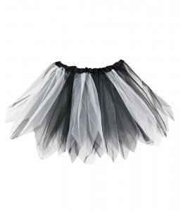 Tutu Blanco y Negro 30cms