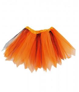 Tutu Naranja y Negro 30cms