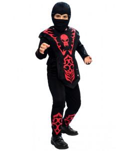 Disfraz de Ninja Rojo Infantil