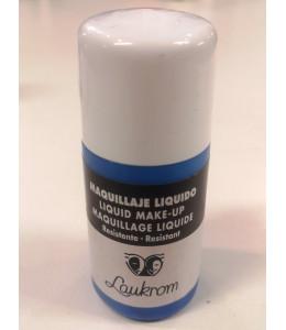 Bote de Maquillaje Liquido Azul