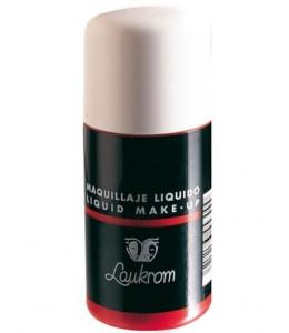 Bote de Maquillaje Liquido Rojo