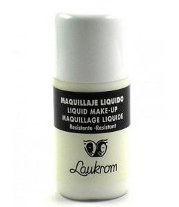 Bote de Maquillaje Liquido Blanco