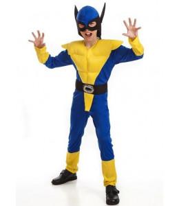 Disfraz de Lobezno Amarillo Infantil