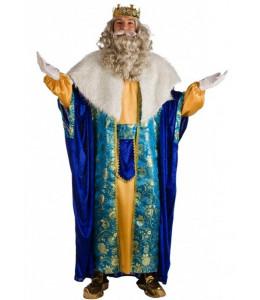 Disfraz de Rey Melchor Azul
