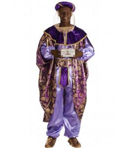 Disfraz de Rey Baltasar Morado