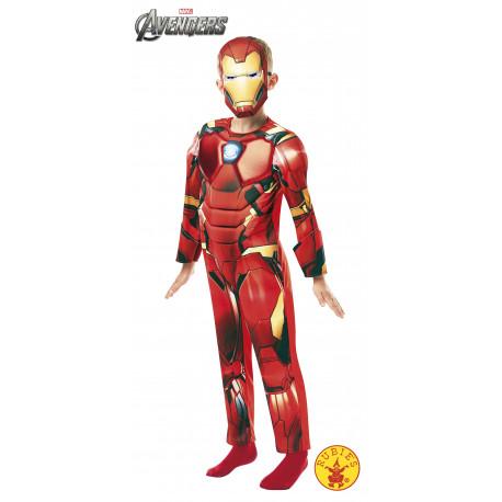 Disfraz de Iron Man Deluxe Infantil