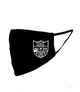 Mascarilla negra con Eskudo Euskal Herria Negro (Homologada)