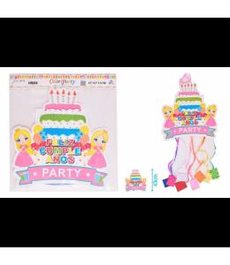 Piñata de Princesas con Tiras