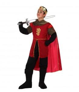 Disfraz de Rey Rojo Infantil