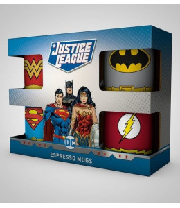 Tazas Expreso Uniformes DC Comics