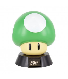 Lampara 3D 1UP Musrhoom Mario Bros