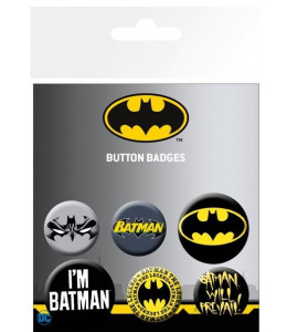 6 Chapas Batman DC Comics