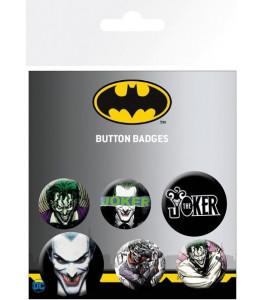 6 chapas Joker DC Comics