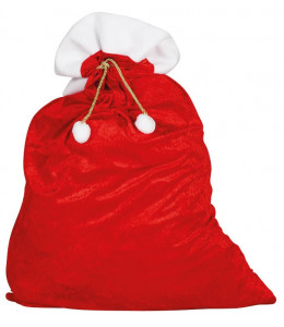 Saco de Papa Noel de 60x95 cm.