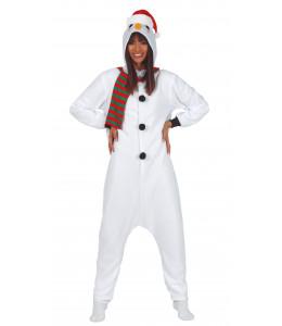 Disfraz de Muñeco de Nieve Pijama