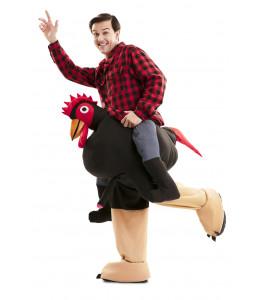 Disfraz de Gallo Exibicionista a Hombros