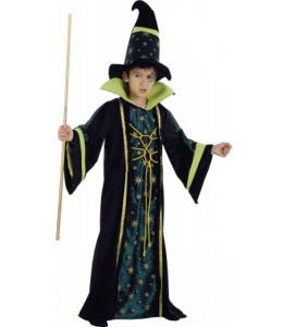 Disfraz de Mago Verde Infantil