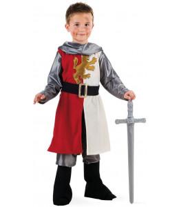 Disfraz de Guerrero Medieval Rojo Infantil