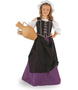 Disfraz de Tabernera Infantil