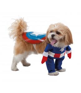 Disfraz de Super Heroe America para Mascota