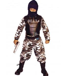 Disfraz de Militar Delta Force Infantil