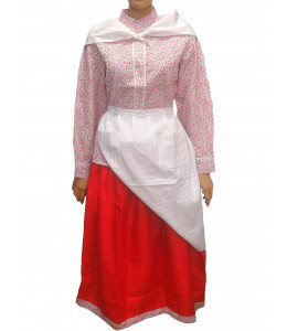 Conjunto Casera Mujer Rojo Laida