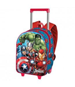 Mochila Avengers Trolley 3D
