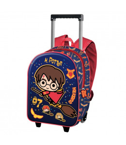 Mochila Harry Potter Quidditch Troley 3D