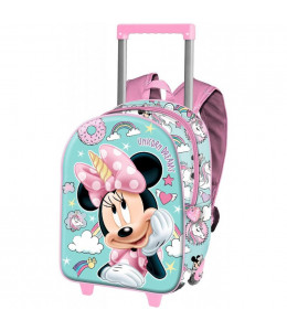 Mochila MInnie Unicornios Trolley 3D
