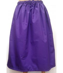 Falda de Casera Morada