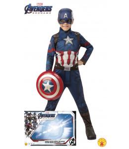Disfraz de Capitan America con Escudo