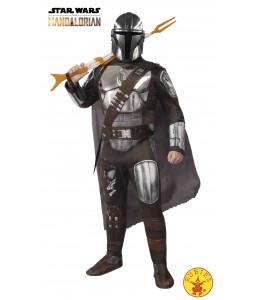 Disfraz de Mandalorian Silver Deluxe