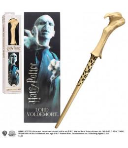 Varita Mágica de Lord Voldemort con marcapáginas 3D