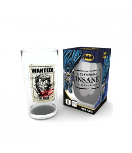 Vaso DC Comics The Joker Insane